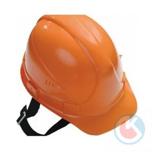 Каска строительная (оранжевая)  (КАС412)