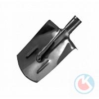 Лопата штыковая (ЛКП-4) прямоугольная с ребром