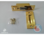 Защёлка роликовая L2 золото