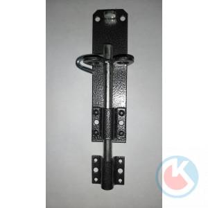 Задвижка накладная ЗТ-150 (серебристый лак)