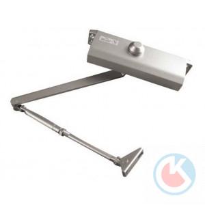Доводчик  дверной GF-604 серебро 100-130 кг