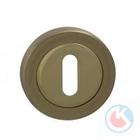 Накладка сувальдная д-50 мм-О латунь