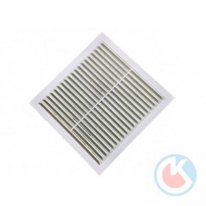 Вент.решетка 250х250 мм (белая) (40шт)