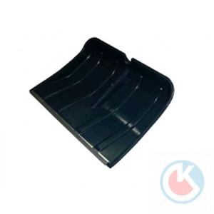Лопата пластмассовая (480х350) с планкой б/ч