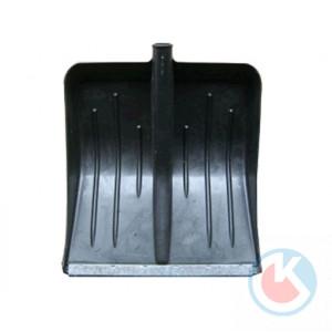Лопата пласт.(430х490) МЕТЕЛИЦА черная (ЛПМ-2)