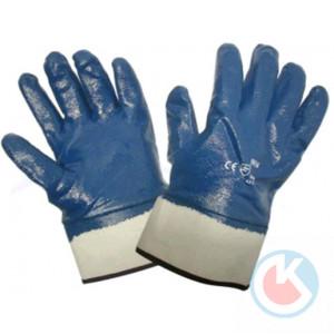 Перчатки облит.нитрил (5016)-крагами