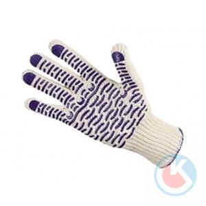 Перчатки вязанные с ПВХ (Люкс-Волна)
