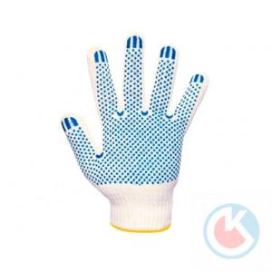 Перчатки вязанные с ПВХ (4-х) (10/200пар.)