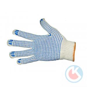Перчатки вяз.с ПВХ  7,5 класс(Профи) (5-ти нит.)