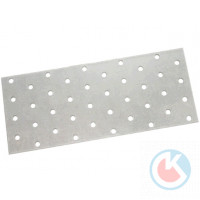 Пластина соединительная 80*40*1,5 цинк  (200)