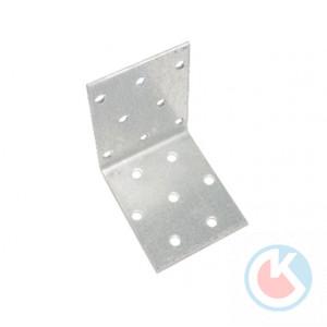 Уголок крепежный 40х40х50х2,0мм (цинк) (100шт)