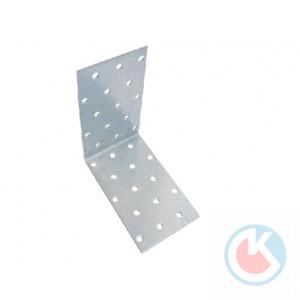 Уголок крепежный 100х100х60х2,0 цинк 488 (40)