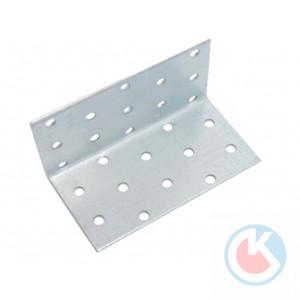 Уголок крепежный 60х60х100х2,0 цинк 405 (40)