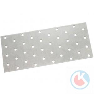 Пластина соединительная 80*160*2,0 цинк (50)