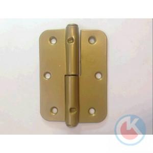 Петля накладная ПН-85 Прав (золотистый металлик)