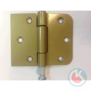 Петля накладная универсальная ПНУ-65/40 (золотистый металлик)