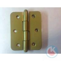 Петля накладная ПН-60 (золотистый металлик)