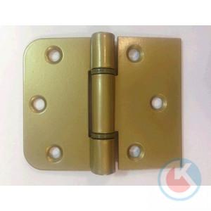 Петля накладная универсальная ПНУ-65 Ш (золотистый металлик)