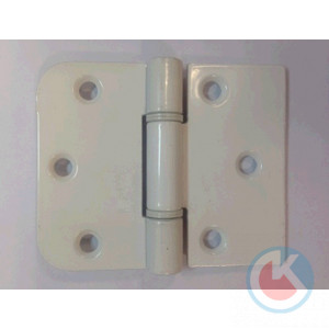 Петля накладная универсальная ПНУ-65 Ш (белая) Произв,(50)