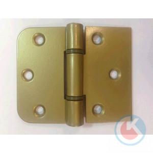 Петля накладная универсальная ПНУ-65/40 Ш (золотистый металлик)