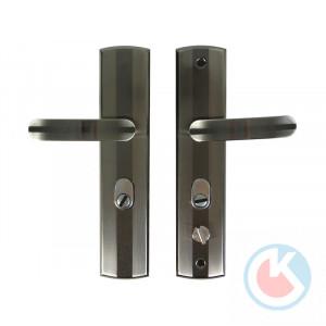Комплект ручек АЛЛЮР РН-СТ217 (правая) для мет. дверей
