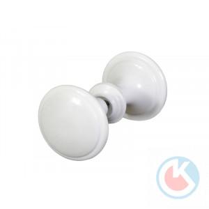 Ручка-кнопка РК-1 (белая) пластмассовая