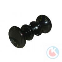 Ручка-кнопка РК-1 (черная) пластмассовая