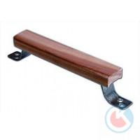 Ручка-скоба РС-140 деревянная накладка