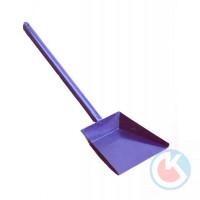 Совок для мусора металлический малый с дл, ручкой
